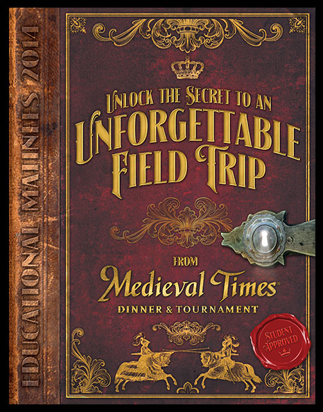 Medieval Times Education Mailers  - Cover