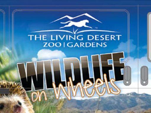 The Living Desert Wildlife on Wheels Van Wrap