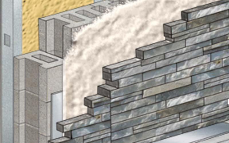 Icynene Interactive Wall Builder