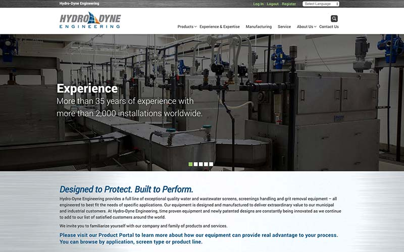Hydro-dyne Engineering Website