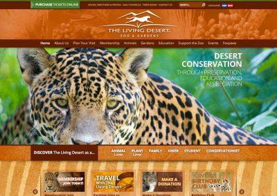 The Living Desert Website