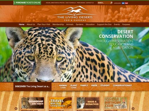 The Living Desert Website