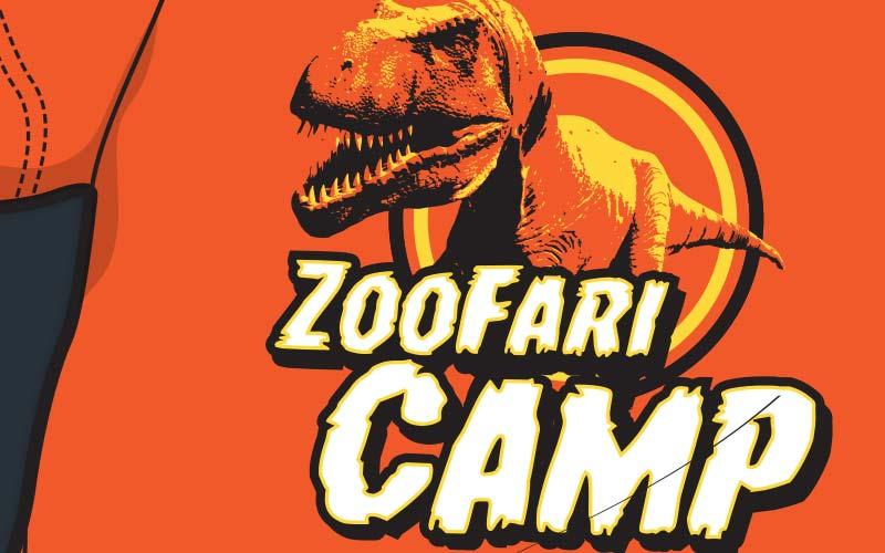 Birmingham Zoo Zoofari Camp T-shirt