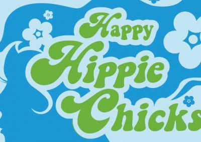 Happy Hippy Chicks Logo