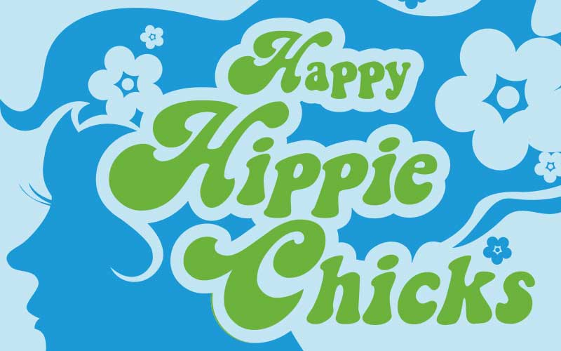 Happy Hippy Chicks Logo