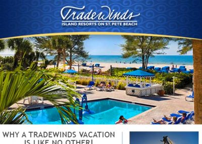 Tradewinds Island Resorts Responsive Email Templates