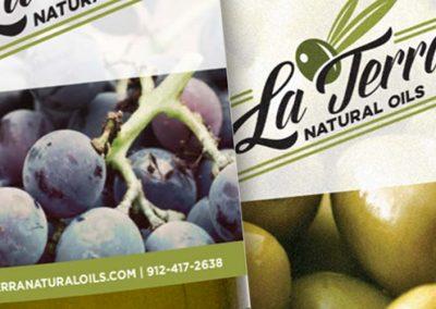La Terra Natural Oils – Product Labels