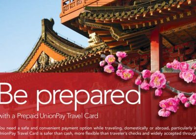 FIS Global Ad – Prepaid UnionPay Travel Card