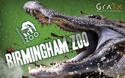 The Birmingham Zoo entrusts Grafx with total park rebranding.