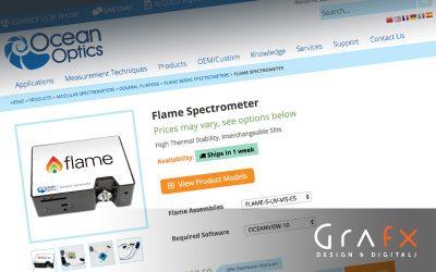 Ocean Optics Gets an E-Commerce Overhaul