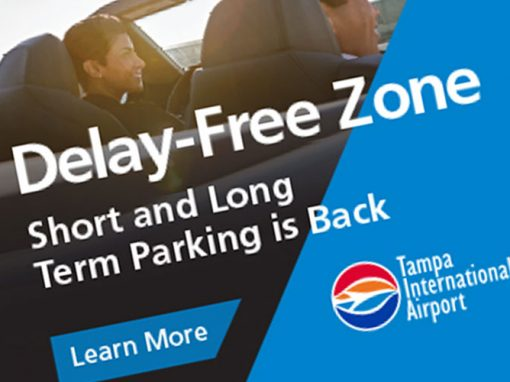 Tampa International Airport – Short and Long Term Parking Banner Ads