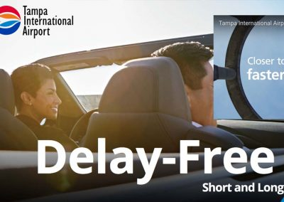 Tampa International Airport – Short and Long Term Parking Campaign Landing Pages